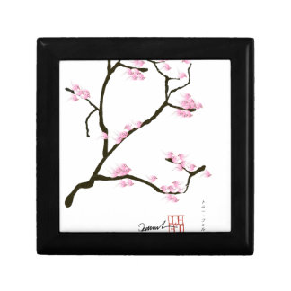sakura blossom with pink birds, tony fernandes gift box