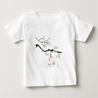 sakura blossoms with birds, tony fernandes baby T-Shirt
