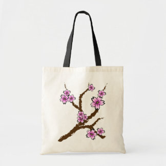 Sakura Branch Budget Tote Bag