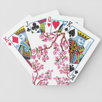 Sakura Branch Painting 2 Poker Deck