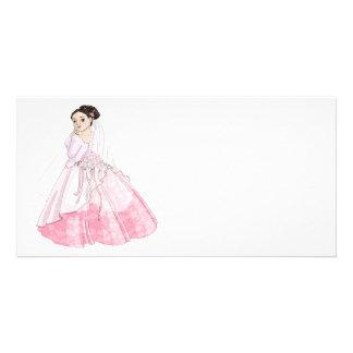 Sakura Bride Customised Photo Card