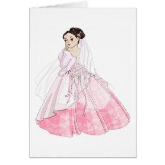 Sakura Bride Greeting Card