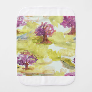 sakura burp cloth