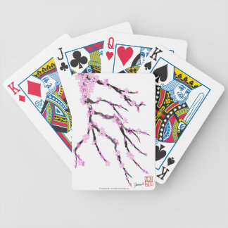 Sakura Cherry Blossom 22,Tony Fernandes Bicycle Playing Cards