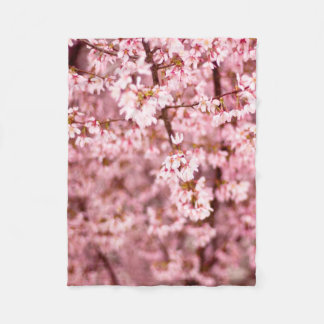 Sakura Cherry Blossom Fleece Blanket