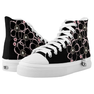 Sakura Cherry Blossom High Top Sneakers