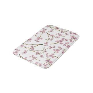 Sakura Cherry Blossom Print Bath Mats