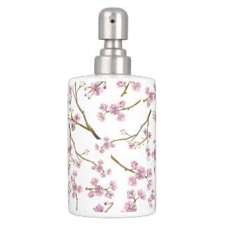 Sakura Cherry Blossom Print Bathroom Set