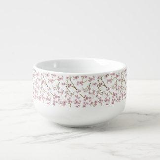 Sakura Cherry Blossom Print Soup Mug