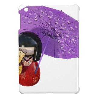 Sakura Doll with Umbrella Case For The iPad Mini