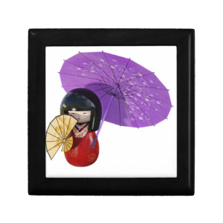 Sakura Doll with Umbrella Gift Box