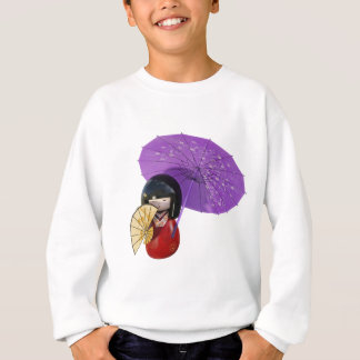Sakura Doll with Umbrella Sweatshirt