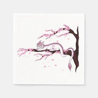 Sakura Dragon Disposable Napkins