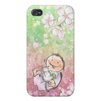 Sakura Dream cherry tree dream Cases For iPhone 4