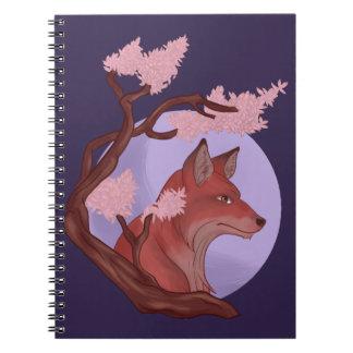 Sakura Fox Notebooks