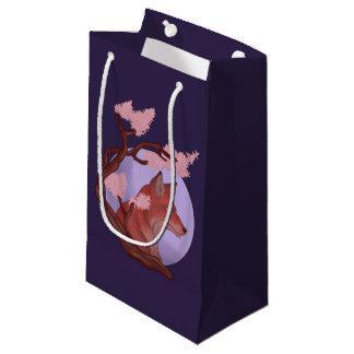 Sakura Fox Small Gift Bag