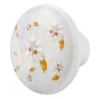 Sakura - Japanese cherry blossom Ceramic Knob