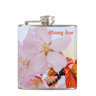 Sakura - Japanese cherry blossom Hip Flask