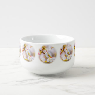 Sakura - Japanese Cherry Blossom Soup Bowl With Handle