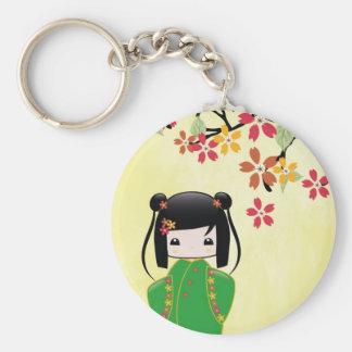 Sakura Kokeshi Doll, Keychain