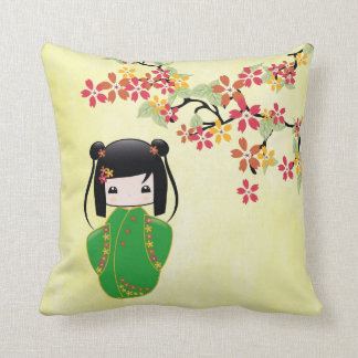 Sakura Kokeshi Doll, Pillow