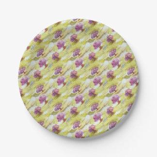 sakura paper plate