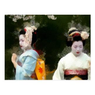 Sakura Secrets Postcard