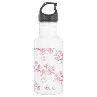 Sakura,spring blossom,Japanese cherry blossom, tre 532 Ml Water Bottle