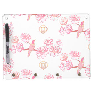 Sakura,spring blossom,Japanese cherry blossom, tre Dry Erase Board With Key Ring Holder