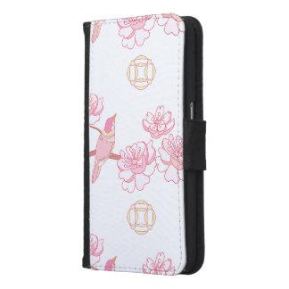 Sakura,spring blossom,Japanese cherry blossom, tre Samsung Galaxy S6 Wallet Case