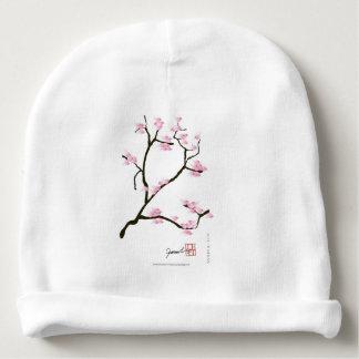 sakura tree and birds tony fernandes baby beanie