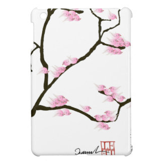 sakura tree and birds tony fernandes iPad mini covers
