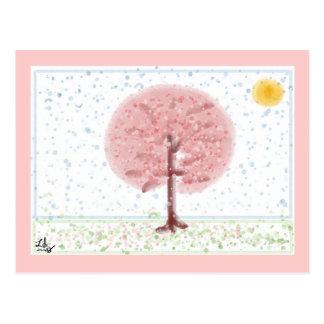 Sakura Tree Postcard