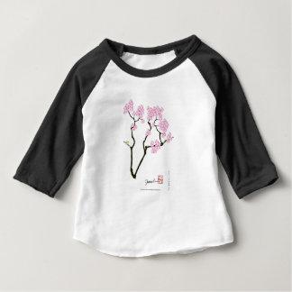 sakura with green bird, tony fernandes baby T-Shirt