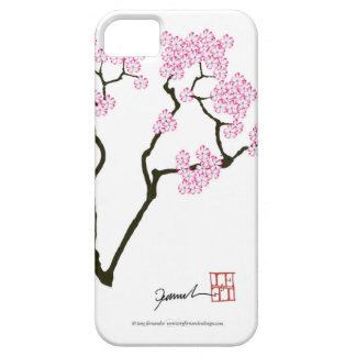 sakura with green bird, tony fernandes barely there iPhone 5 case