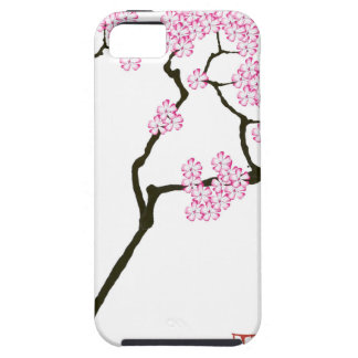 sakura with green bird, tony fernandes iPhone 5 covers