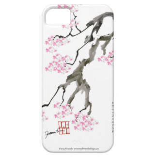 sakura with pink goldfish, tony fernandes iPhone 5 covers