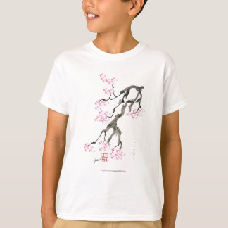 sakura with pink goldfish, tony fernandes T-Shirt