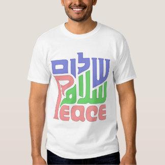Salaam Shalom Peace Shirt