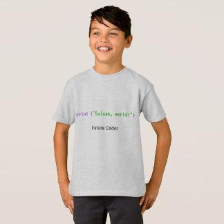 Salaam, World - kid's t-shirt