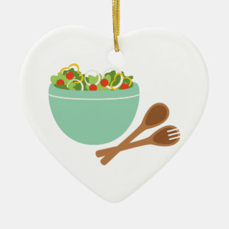 Salad Bowl Ceramic Ornament