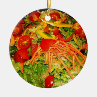 Salad Brite Ceramic Ornament