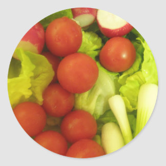 Salad Vegetables Stickers