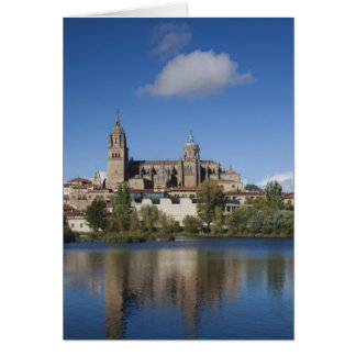 Salamanca Cathedrals and town 2 Card