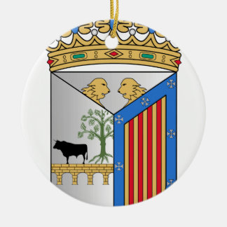Salamanca (Spain) Coat of Arms Ceramic Ornament