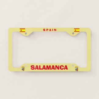 Salamanca Spain License Plate Frame