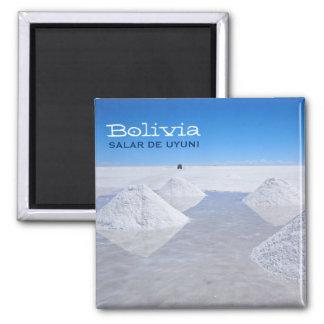 Salar de Uyuni salt flats text magnet