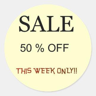 Sale 50%0ff > Sale Stickers Round Sticker
