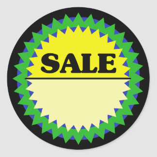 SALE (ADD PRICE) Retail Sale Sticker
