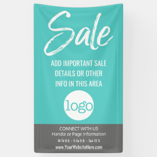 Sale Advertisement - Add Logo and Details